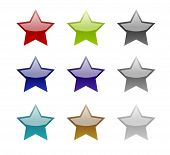 Jelly Buttons Stars