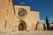 Entrance Monastery Santa María De Huerta