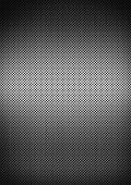 Silver Brushed Metal Grid Background Texture
