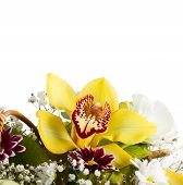 Bouquet With Orchids