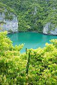 The lagoon called 'Talay Nai' in Moo Koh Ang Tong National Park
