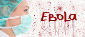 Ebola Concept - Young Female Doctor In Surgeon Mask