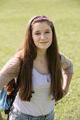 Cute Teen Student
