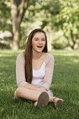 Laughing Teen Girl
