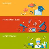 Science and research banner