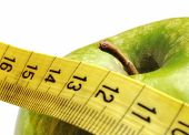 Apple And Measuring Tape For A Healthy Lifestyle 4