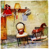 old vintage cute things - artistic retro picture