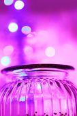 Magical Glas Jar And Bokeh Lights