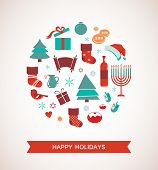 image of hanukkah  - merry christmas and happy hanukkah - JPG
