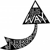 Arrow Doodle Icon