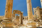 Ruins, Jerash, Jordan