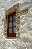 New window in old Greek house