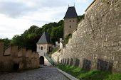 pic of bohemia  - Karlstejn castle in Central Bohemia - JPG