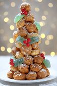 Croquembouche for Christmas