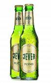 Bottles Of Erdinger Beer Isolated On White