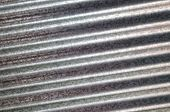 Zinc Galvanized Corrugated Metal Texture Diagonal
