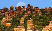 Chiricahua National Monument Moon