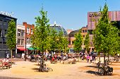 Eindhoven City Center on a beautiful summer day