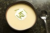 Vichyssoise Potato And Leek Soup