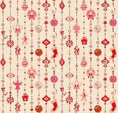 Xmas wallpaper with funny toys. Raster copy