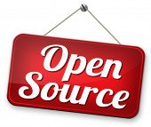 pic of open-source  - open source program software program or economy freeware internet data computer sharing  - JPG