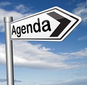 agenda weekly timetable and business schedule organizing and planning time use for meetings and organize organization
