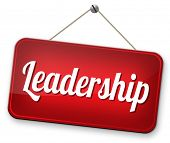 pic of leader  - leadership follow team leader to success concept business leader or market leader business competition  - JPG