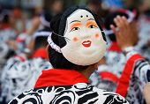 Japanese Festival Dancer with a mask