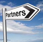 Partners in crime our business partnership and cooperation group in team work