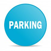 parking internet icon