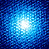 Abstract vector background with hexagons