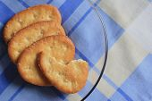 Bread Is Crisp Or Biscuits