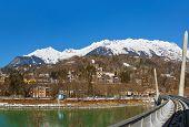 Funicular In Innsbruck Austria