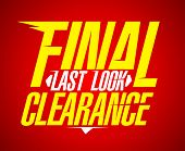 Final last look clearance sale design.