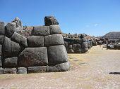 Inca Ruins At Sacsayhuaman