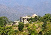 old hinduism temple in kumbhalgarh fort - rajasthan india