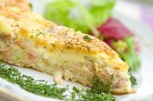 Fish Cake with salmon and cheese