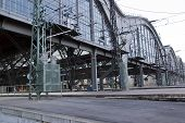 pic of leipzig  - Detail of the train stations of Leipzig - JPG