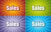 Sales Four Colors
