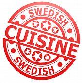 Swedish Cuisine Stamp