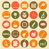 Set Education Icons