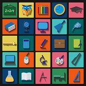 Set Education Icons