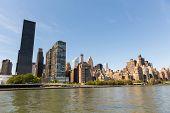 new york city downtown manhattan panorama view
