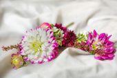 small bouquet lapel groom