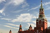 Moscow Red square clock