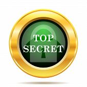 picture of top-secret  - Top secret icon - JPG