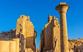 Entrance To The Karnak Temple - Luxor, Egypt