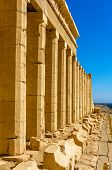Columns Of The Hatshepsut's Temple Near Luxor - Egypt