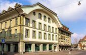 Buildings On Waisenhausplatz In Bern - Switzerland
