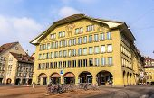 Buildings On Casinoplatz Square In Bern - Switzerland